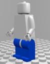 Lego-Man-Beine