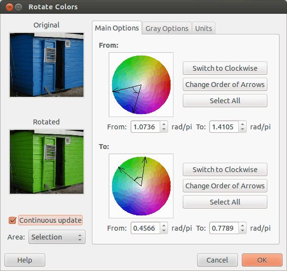 gimp-replace-colors-green